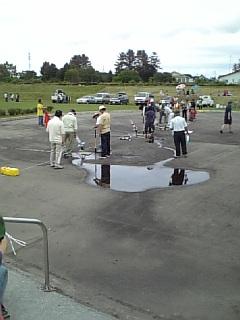 ペットボトルロケット&<br />  燃焼実験