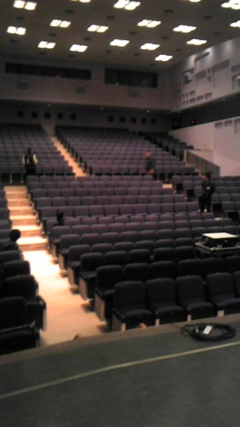 今日の舞台