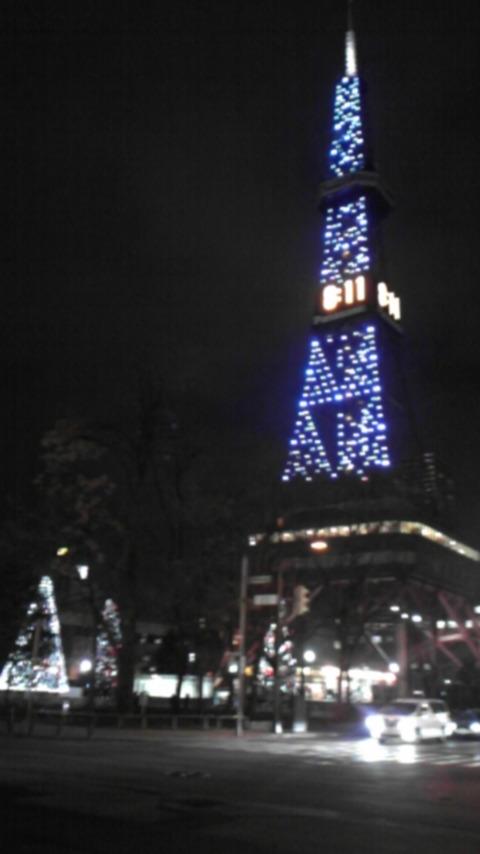 街はクリスマスなのだ