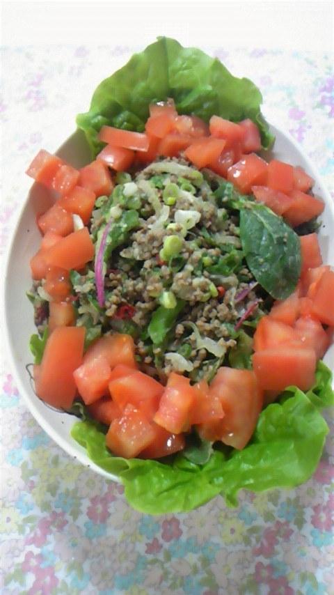 タイ風ひき肉のサラダ